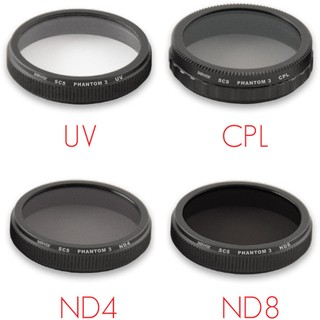 Kit de 4 Filtros Bower Sky Capture Series (UV, CPL, ND4, ND8) - comprar online