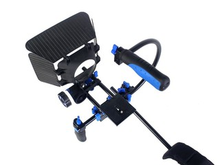 Soporte Kit DSLR BLUE RL-02 incluye DSLR, Matte Box y Follow Focus F1