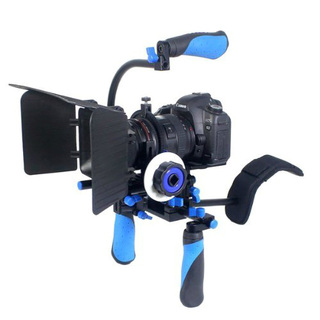 Soporte Kit DSLR BLUE RL-02 incluye DSLR, Matte Box y Follow Focus F1 - Videostaff México