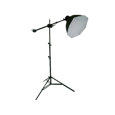 Kit Lámpara Softbox Pelo HTZ SB-46B