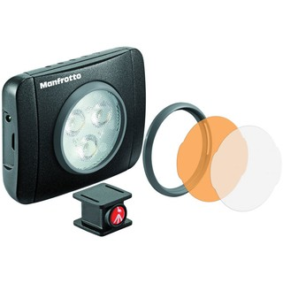 Lámpara Manfrotto Serie Lumie Art de 3 LED (MLUMIEPL-BK)