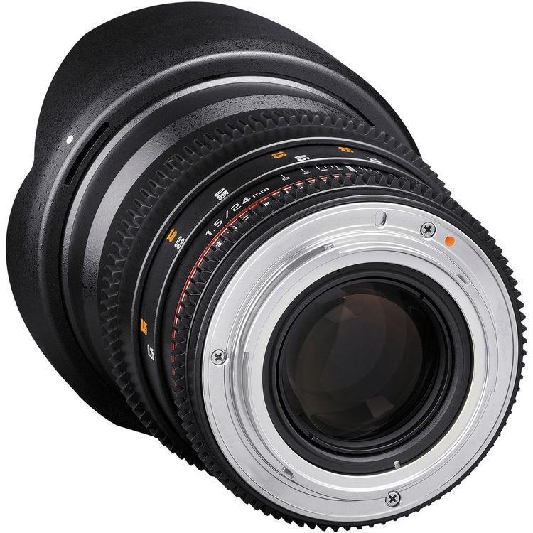 Lente Rokinon 24mm T1.5 Cine DS Lens Montura Canon