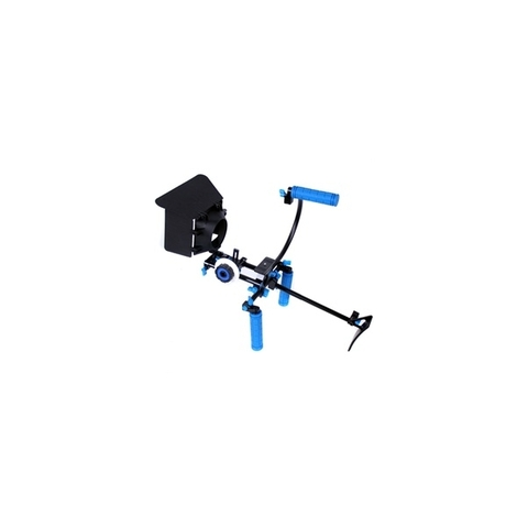 Soporte Kit DSLR BLUE RL-00 incluye DSLR, Matte Box y Follow Focus F1