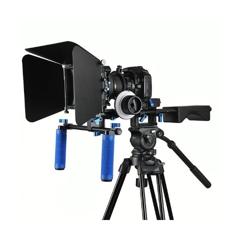 Soporte Kit DSLR BLUE RL-04 incluye DSLR, Matte Box y Follow Focus