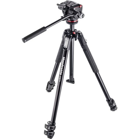 Tripié Manfrotto 190X3/MHXPRO2-W