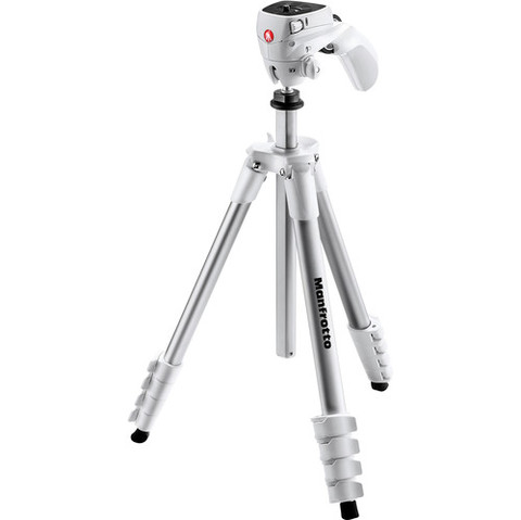 Tripié Manfrotto MKCOMPACTACN-WH BLANCO