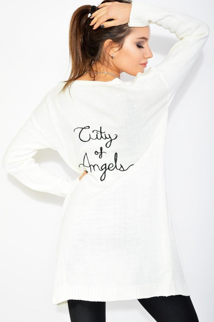 Cardigan Angels blanco
