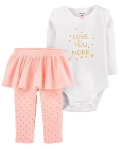 Body  y pantalon tutu Love