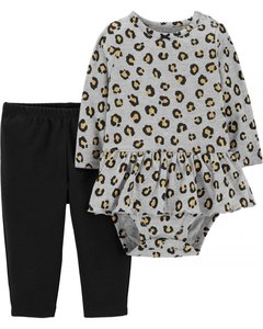 Set 2 Piezas Body  y pantalon Cheeta