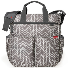 Bolso Maternal Skip Hop Duo Grey Feather