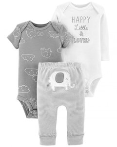 Set 2 Bodys y pantalon elefante