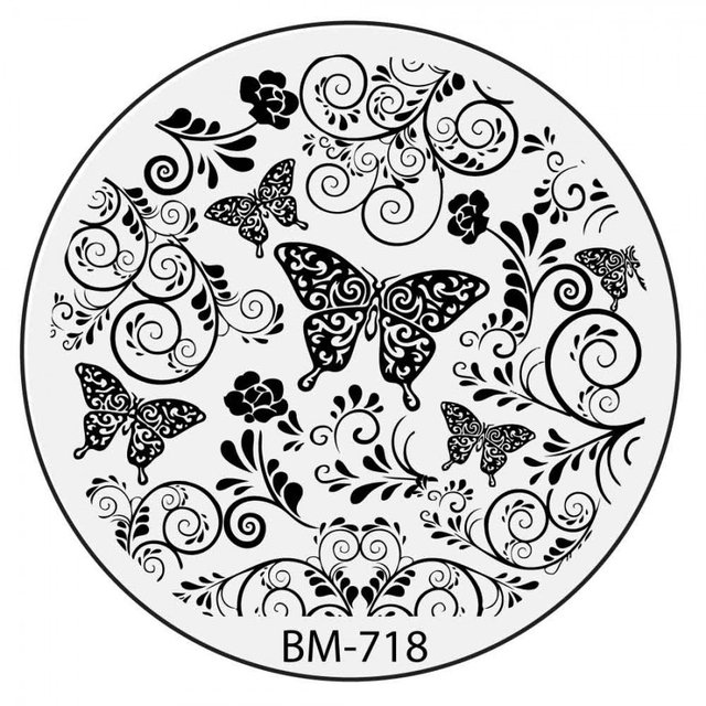 Bundle Monster BM718: Butterfly Wishes