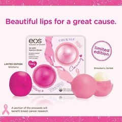 EOS Lip Balm - Limited Edition Strawberry Sorbet & Wildberry