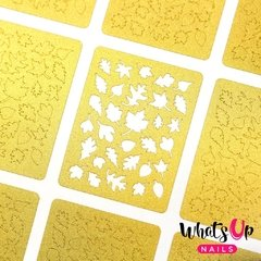 Whats Up Nails - Leaves Stencils Set de 12