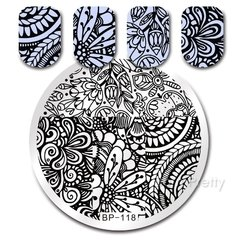 Nail Art Stamp BORN PRETTY BP118