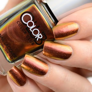Color Club Duo Chrome Nail Polish  - Burnt Out