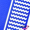 Whats Up Nails - Blue Wide Zig Zag Tape