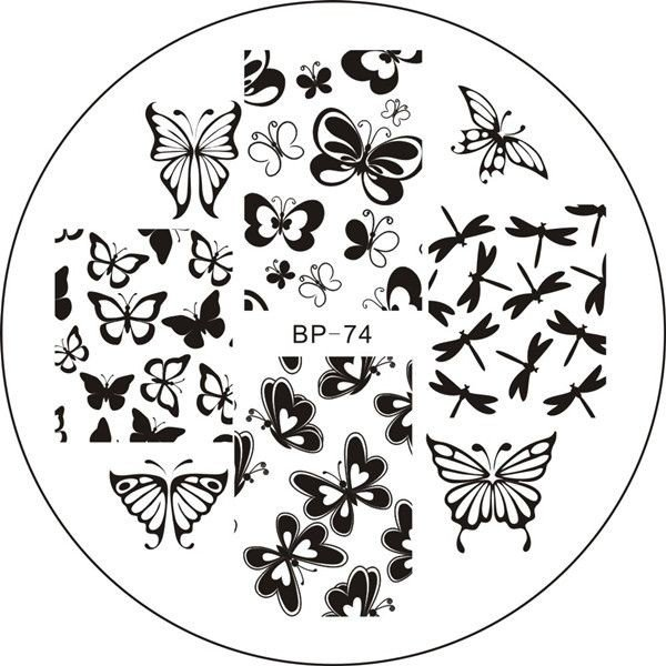Nail Art Stamping BORN PRETTY- BP74
