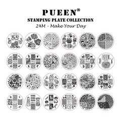 Pueen Make Your Day Plate Collection - 24M