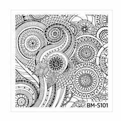Bundle Monster Nail Art Stamping Plates- BM-S101