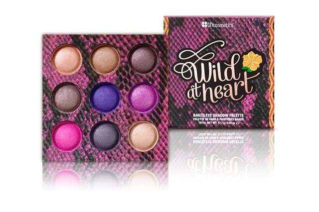BH Cosmetics- Wild at Heart Baked Eyeshadow Palette