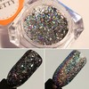 BORN PRETTY Galaxy Holo Flakies Sequins Holographic  Powder