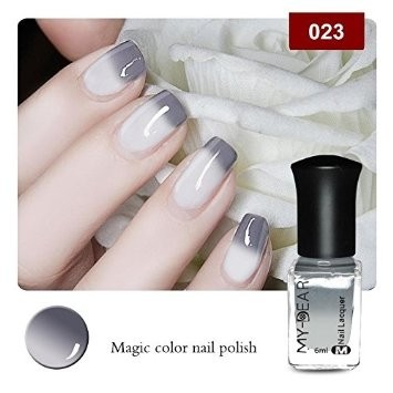 1 Bottle 6ml Thermal Color Changing Nail Polish - comprar online