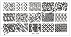 Nail Art Stamping BORN PRETTY BP-L003