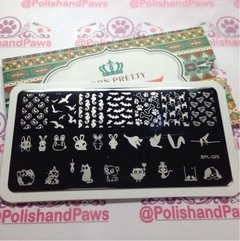 Nail Art Stamping BORN PRETTY BP-L025