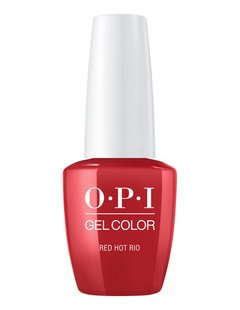 OPI Gel Color Red Hot Rio