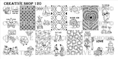 Creative Shop- Stamping Plate- 120