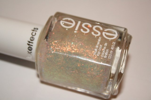 Essie ~ Shine Of The Times Glitter Topcoat