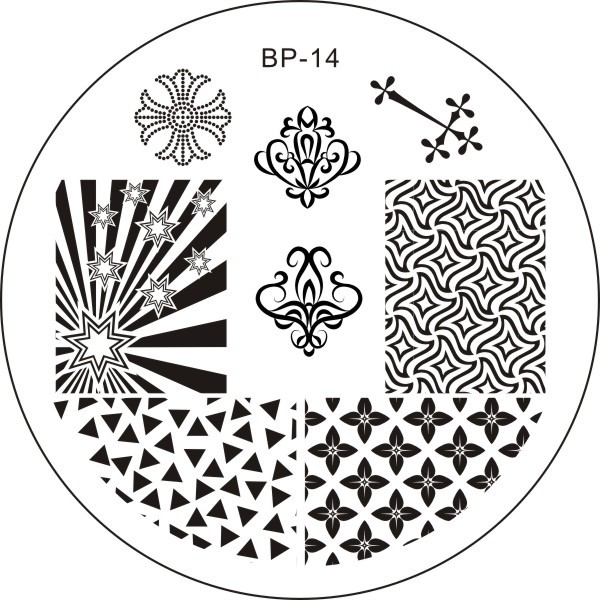 Nail Art Stamp  BORN PRETTY BP14