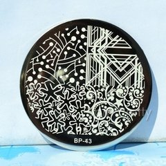 Nail Art Stamp BORN PRETTY BP43