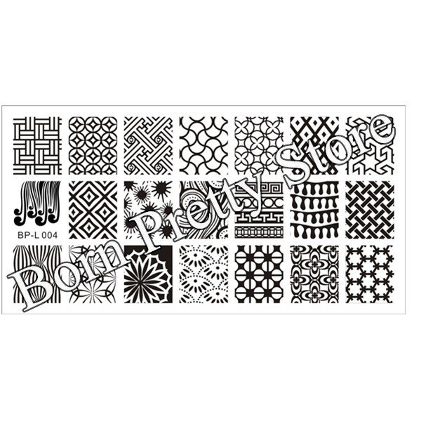 Nail Art Stamping BORN PRETTY BP-L004