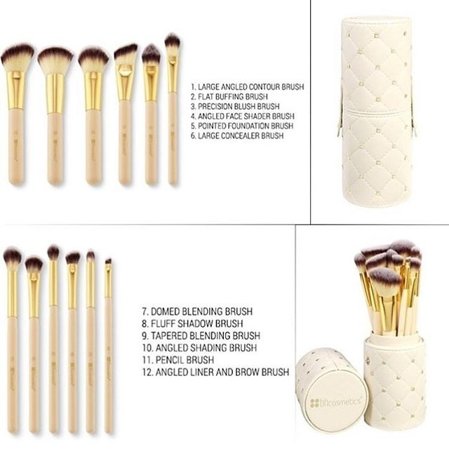 Bh Cosmetics Studded Couture 12 Piece Brush Set