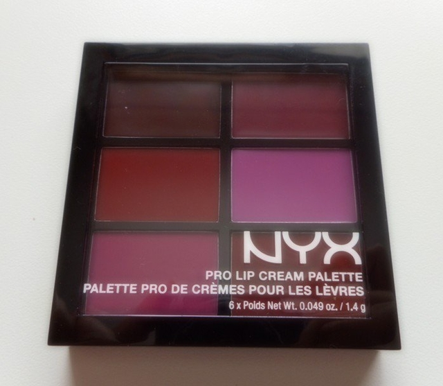 NYX Pro Lip Cream Palette en internet