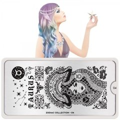 MoYou-London Stamping Nail Art Zodiac plate collection 04