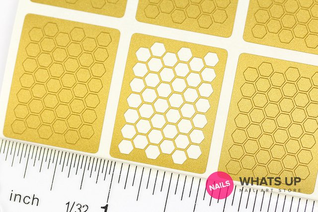 Honeycomb Stencils - set de 12