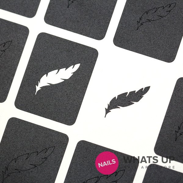 Feather Stickers & Stencils  x 20