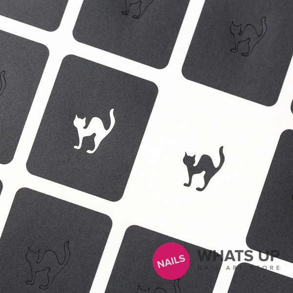 Cat Stickers & Stencils x 20