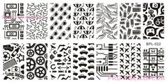 Nail Art Stamping BORN PRETTY BP-L022