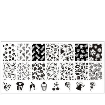 Nail Art Stamping BORN PRETTY BP-L023