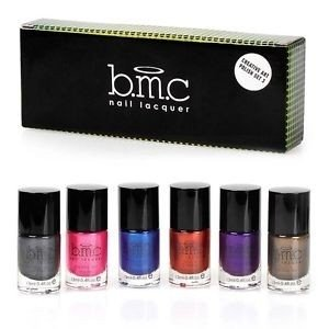 BMC Metallic Color Nail Stamping Lacquers