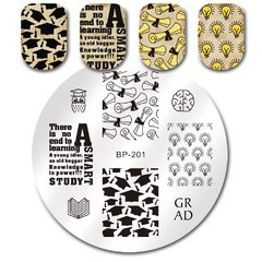 Nail Art Stamp BORN PRETTY BP201