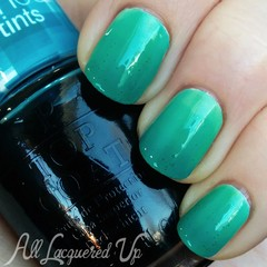 OPI Sheer Tints Top Coats - I Can Teal You Like Me