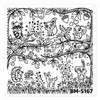 Bundle Monster Nail Art Stamping Plates- BM-S167