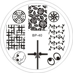 Nail Art Stamp BORN PRETTY BP40