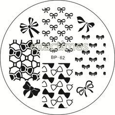 Nail Art Stamp BORN PRETTY BP62