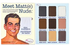 The Balm Meet Matt(e) Nude - Nude Matte Eyeshadow Palette